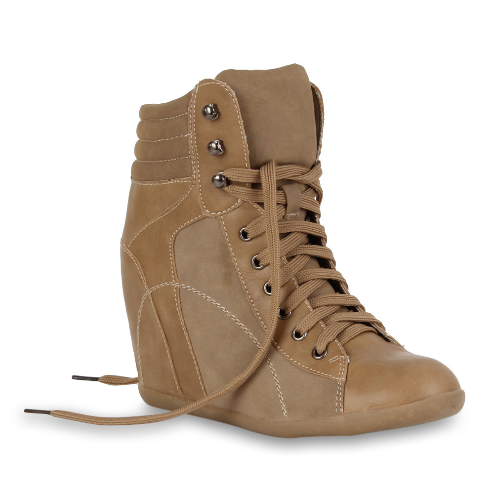 Ladies-Trainer-Wedge-94705-Shoes-Wedges-36-41 thumbnail 5