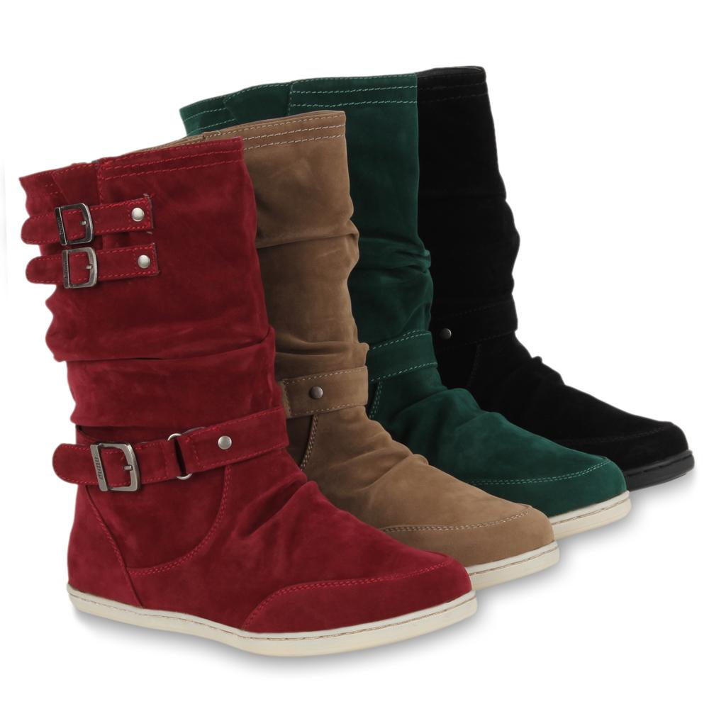 flache damen stiefeletten chelsea boots gummistiefel 99909 gr 36 41 ebay. Black Bedroom Furniture Sets. Home Design Ideas