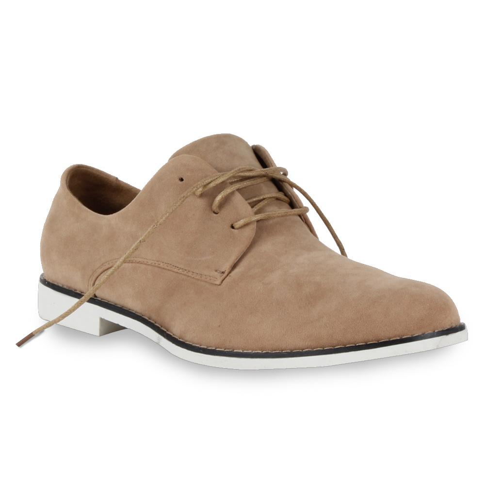 Elegante-Herren-Business-95289-Lederoptik-Schnuerer-Schuhe-40-45-Mens-Special