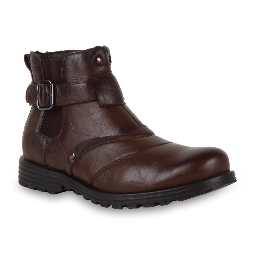 boots herren stiefel stiefelette 95337 schuhe gr 40 45 hot ebay. Black Bedroom Furniture Sets. Home Design Ideas