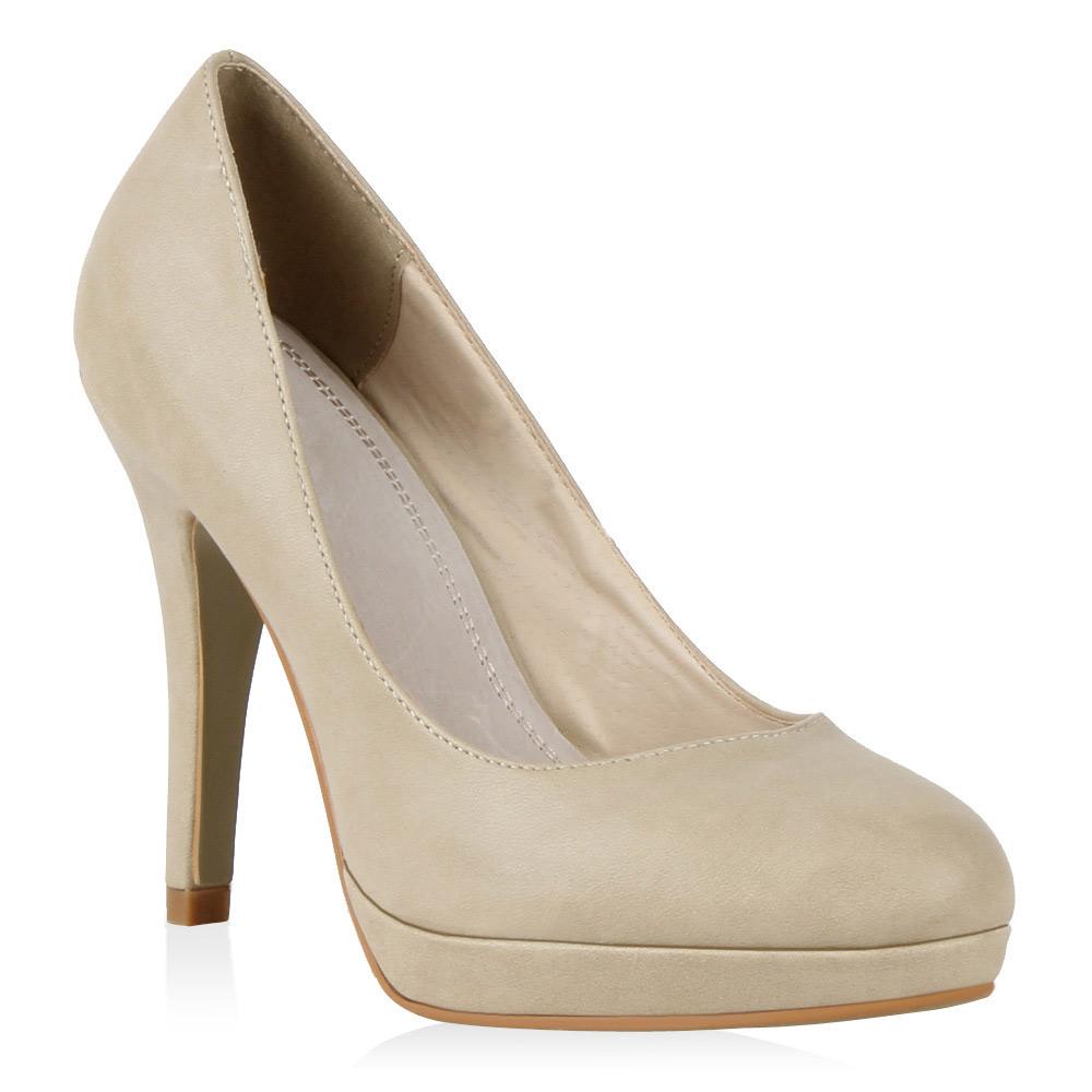 elegante damen pumps high heels 95709 business schuhe 36 41 ebay. Black Bedroom Furniture Sets. Home Design Ideas