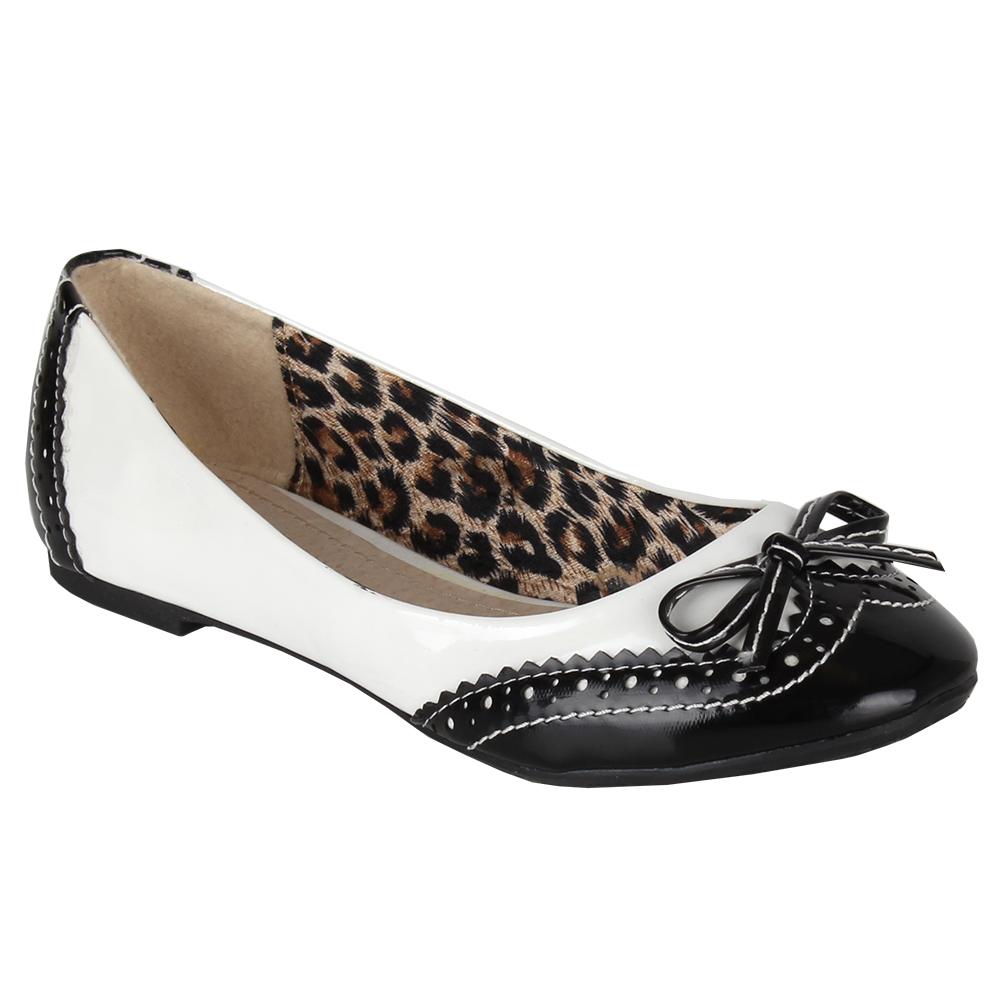 freizeit damen ballerinas slipper gr 36 41 budapester lack schuhe 95492. Black Bedroom Furniture Sets. Home Design Ideas
