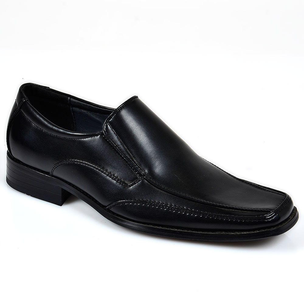 klassische herren business halb schuhe 95618 slipper. Black Bedroom Furniture Sets. Home Design Ideas