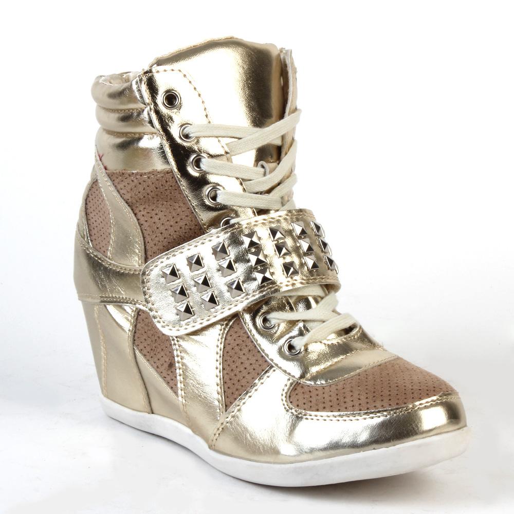 moderne damen sneakers schuhe 36 41 goldig stiefeletten. Black Bedroom Furniture Sets. Home Design Ideas