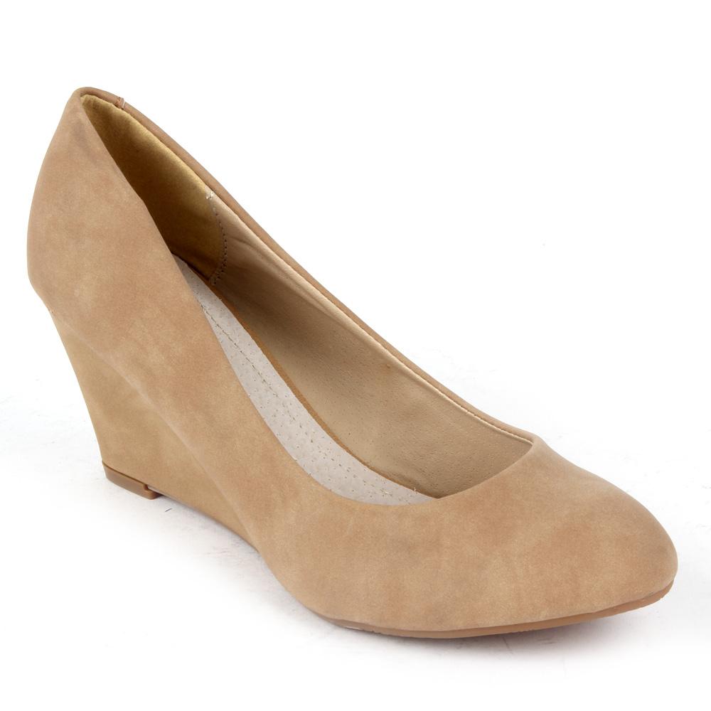 elegante wedges damen pumps high heels 95841 keilabsatz. Black Bedroom Furniture Sets. Home Design Ideas
