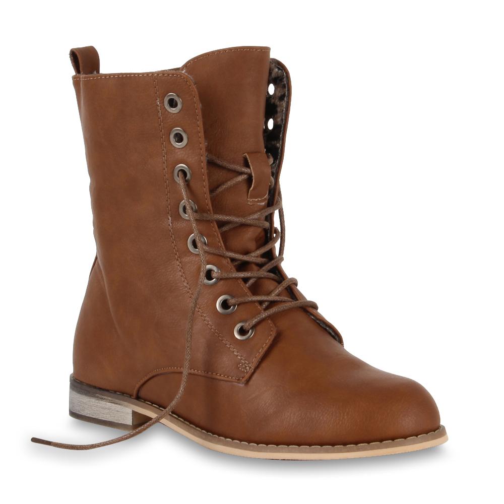 worker boots damen stiefeletten 96286 warme schn rboots schuhe 36 41 new look ebay. Black Bedroom Furniture Sets. Home Design Ideas