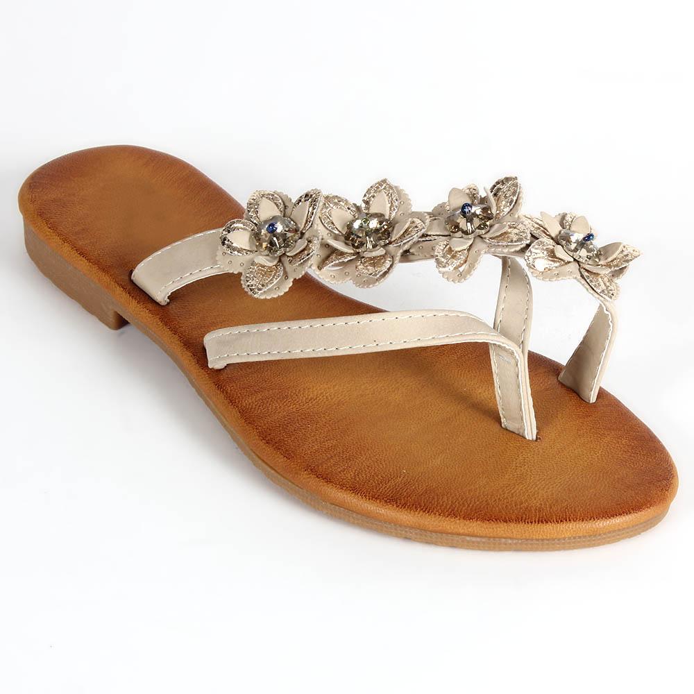 damen sandalen 96805 zehentrenner flower schuhe flip flops. Black Bedroom Furniture Sets. Home Design Ideas