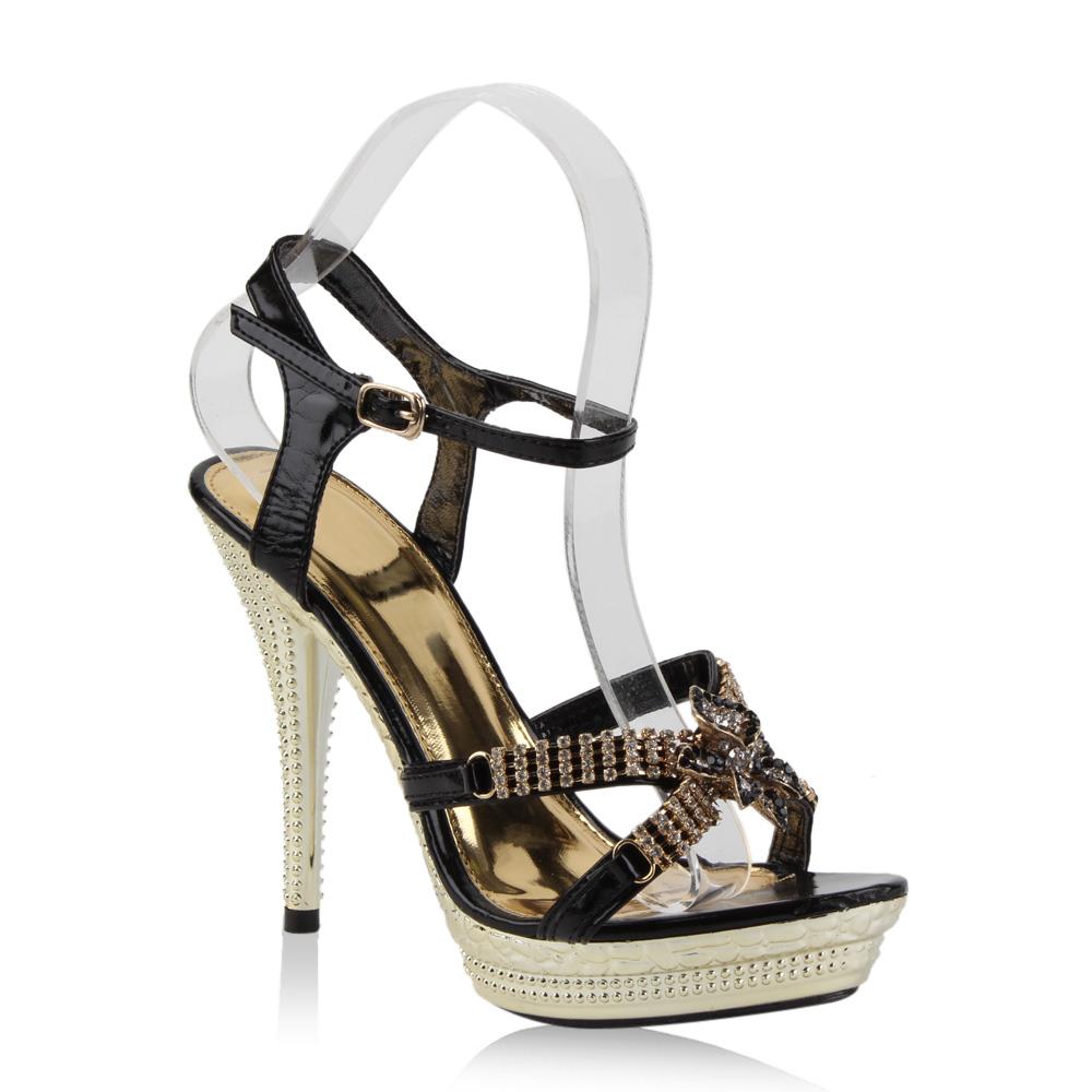 damen sandaletten sommerschuhe wedges stilettos 890085 gr 35 41 best price ebay. Black Bedroom Furniture Sets. Home Design Ideas