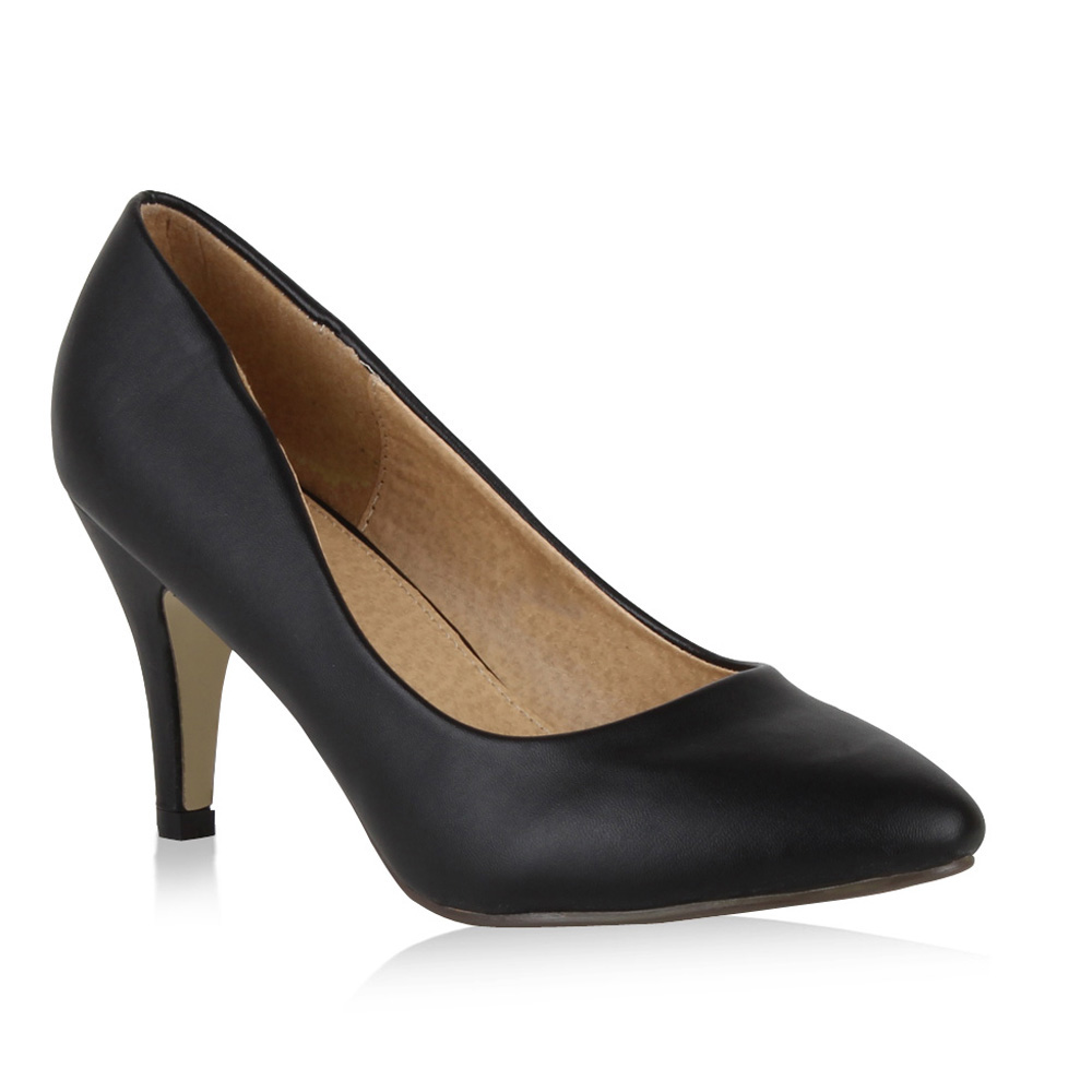 Elegante High Heels Damen Pumps 97920 Basic Schuhe Gr. 36-41