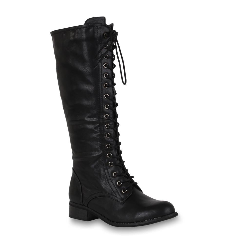 worker boots damen stiefel herbst winter schuhe. Black Bedroom Furniture Sets. Home Design Ideas