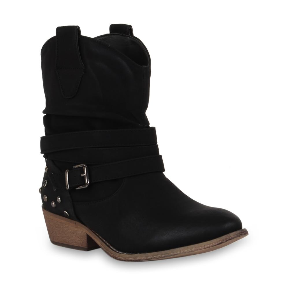 damen cowboy stiefel schuhe western boots stiefeletten. Black Bedroom Furniture Sets. Home Design Ideas
