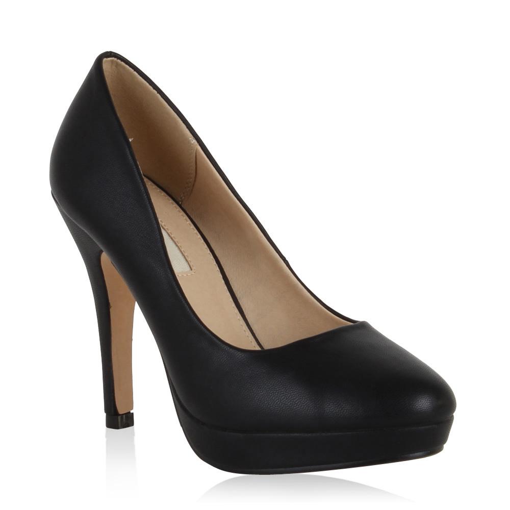 abendschuhe damen pumps party hochzeit high heels schuhe 99409 modatipp ebay. Black Bedroom Furniture Sets. Home Design Ideas