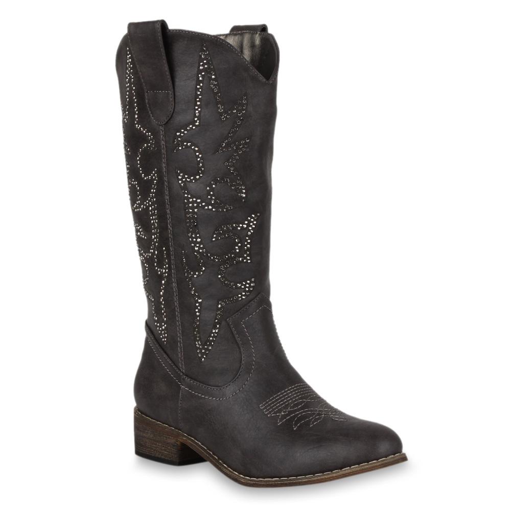 damen cowboy stiefel western boots tribal 98536 weitschaft. Black Bedroom Furniture Sets. Home Design Ideas