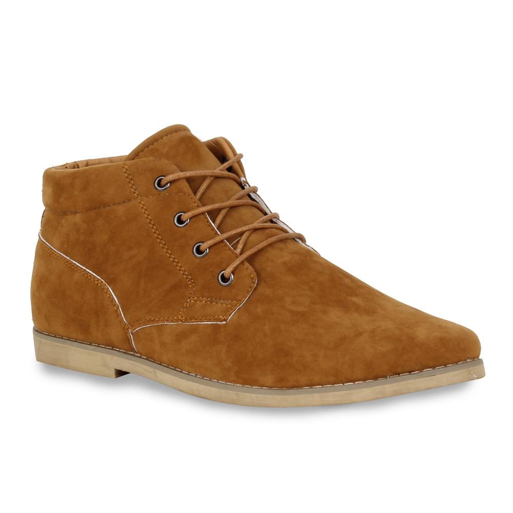 Moderne-Herren-Halbschuhe-Schnuerer-Trendfarben-Schuhe-98861-Gr-40-45