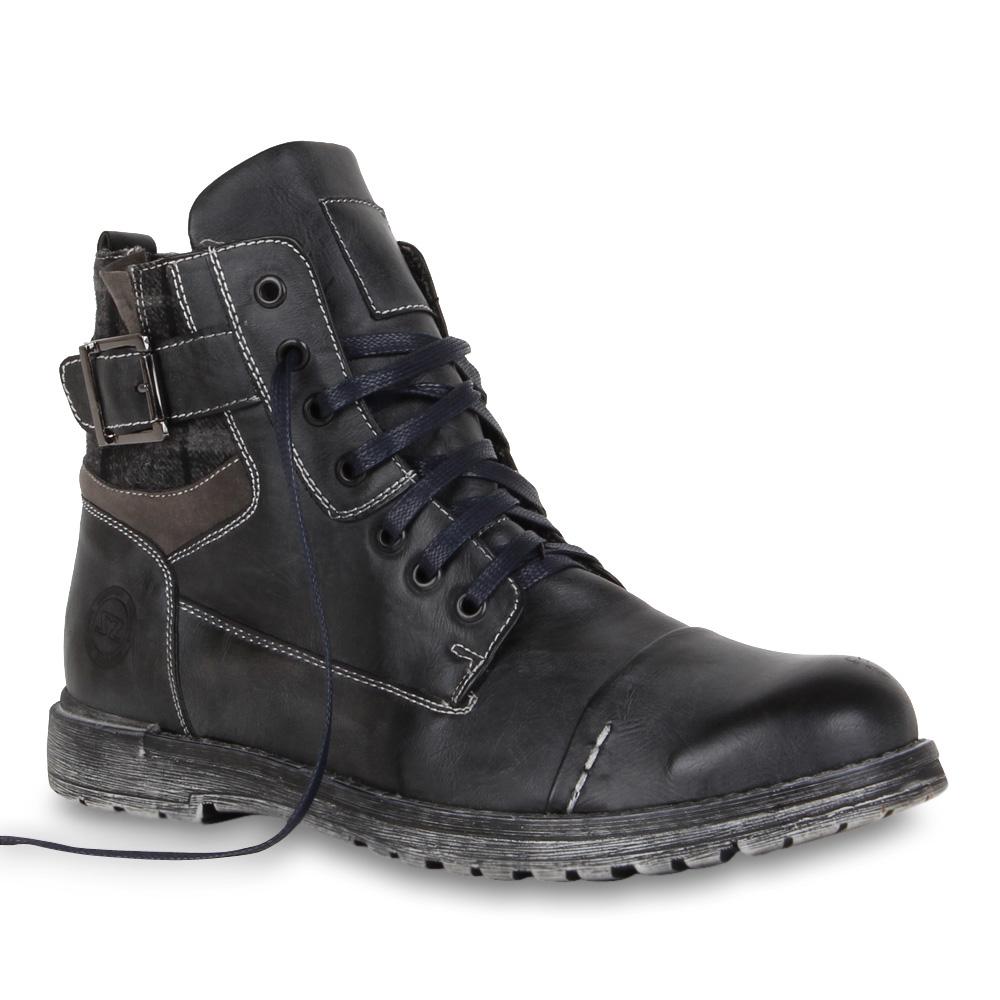 Worker-Boots-Herren-Boots-Schnuerer-Schuhe-70248-Karo-Trend-2014-Gr-40 ...