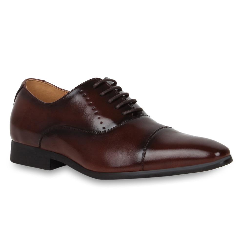 Klassische-Herren-Business-Schuhe-Schnuerer-Halbschuhe-70405-Gr-40-45
