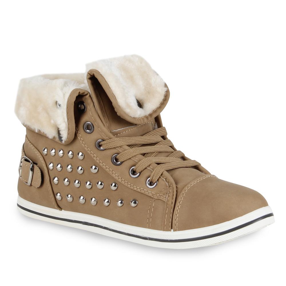 Warme Damen Sneakers Kunstpelz Gefüttert Sport zapatos  Gefüttert Kunstpelz 70113 Gr. 36-41 Top f1f061