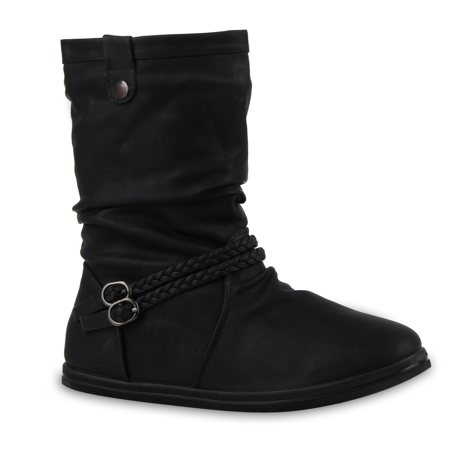 top winter stiefel boots gef ttert 99908 damen schuhe ebay. Black Bedroom Furniture Sets. Home Design Ideas