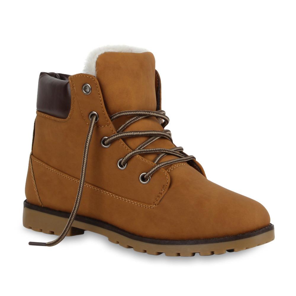 warm gef tterte damen stiefeletten outdoor boots 99293. Black Bedroom Furniture Sets. Home Design Ideas