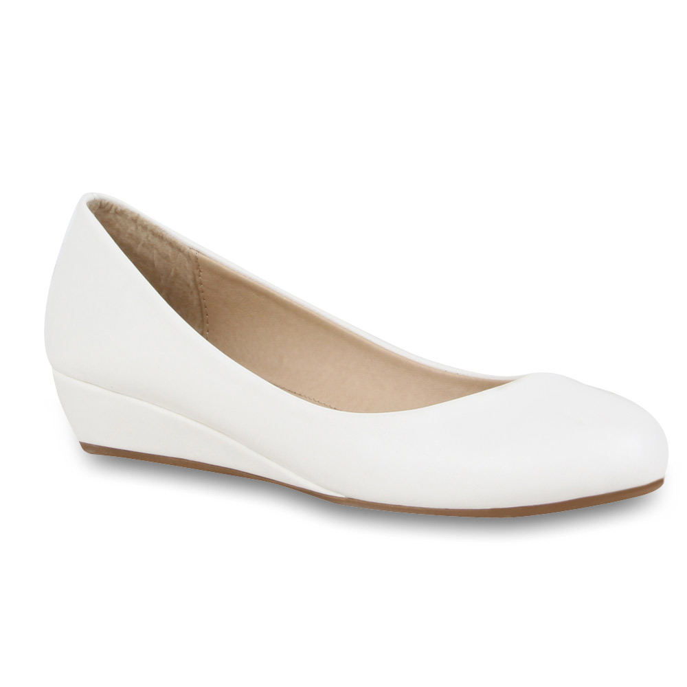 Damen Ballerinas Keilabsatz Pumps Slipper 70969 Flats Gr. 36-41 36-41 36-41 New Look 95270a