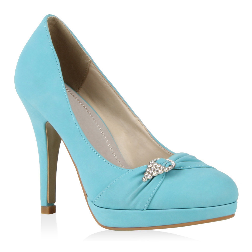 s e party damen pumps glitzer high heels schuhe 98117 gr. Black Bedroom Furniture Sets. Home Design Ideas