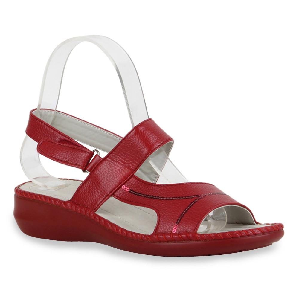 bequeme damen sandalen komfort schuhe 71275 hausschuhe gr 36 41 ebay. Black Bedroom Furniture Sets. Home Design Ideas