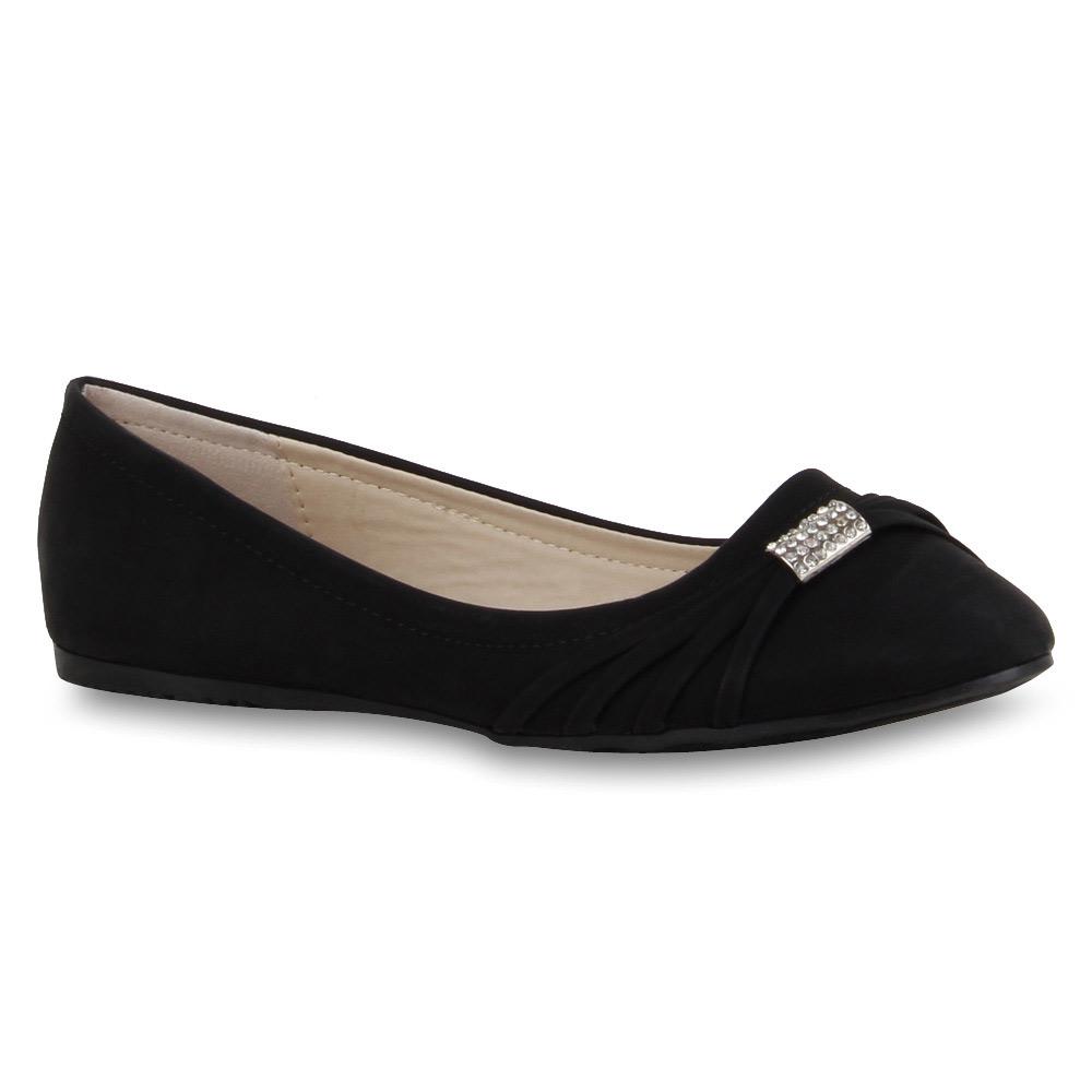 spitze damen ballerinas slipper flats strass 71279 schuhe gr 36 42 modatipp ebay. Black Bedroom Furniture Sets. Home Design Ideas