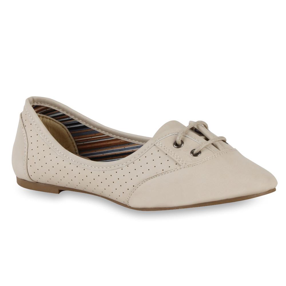 Damen ballerinas halbschuhe dandy look flats slipper for Dandy look fa r damen