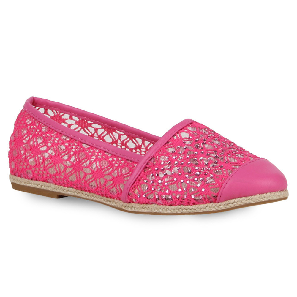damen ballerinas slipper espadrilles spitze slipper schuhe 71930 new look ebay. Black Bedroom Furniture Sets. Home Design Ideas