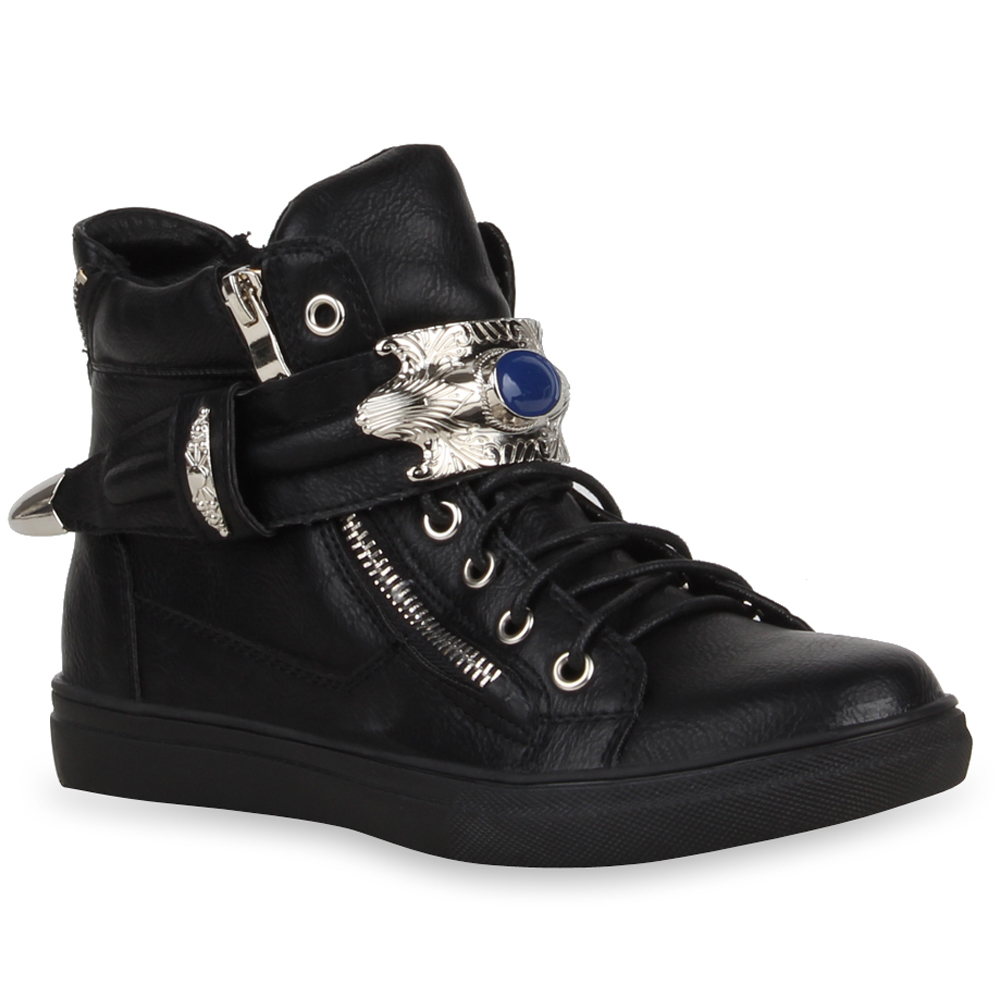 damen stiefeletten high top sneakers 99876 viele modelle schuhe 36 41 modatipp ebay. Black Bedroom Furniture Sets. Home Design Ideas