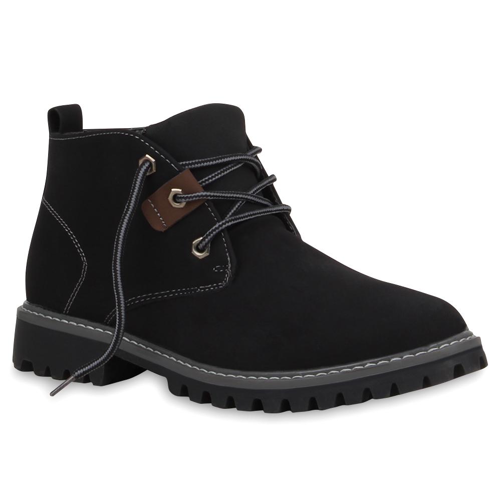 klassische herren boots outdoor schuhe schn rer 99600 gr. Black Bedroom Furniture Sets. Home Design Ideas