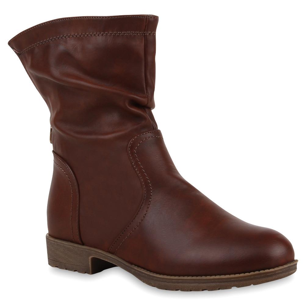 neu l ssige damen boots weitschaft stiefeletten stiefel 173 151 ebay. Black Bedroom Furniture Sets. Home Design Ideas