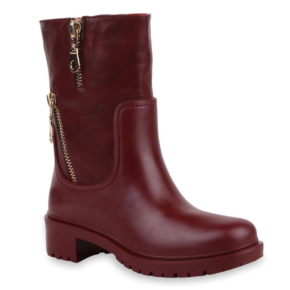 derbe damen stiefeletten boots gummistiefel stiefel 99611 gr 36 41 new look ebay. Black Bedroom Furniture Sets. Home Design Ideas