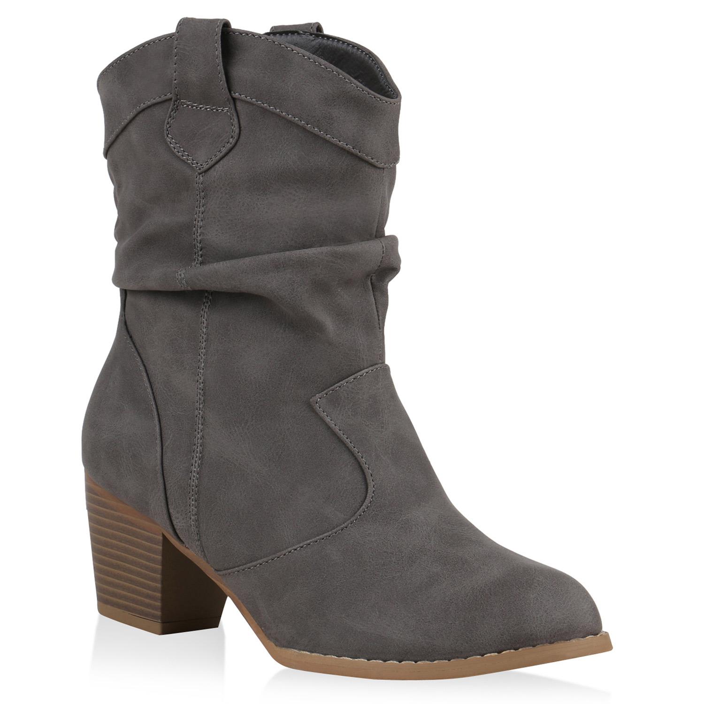cowboy boots damen holzoptikabsatz western stiefeletten 812979 trendy. Black Bedroom Furniture Sets. Home Design Ideas