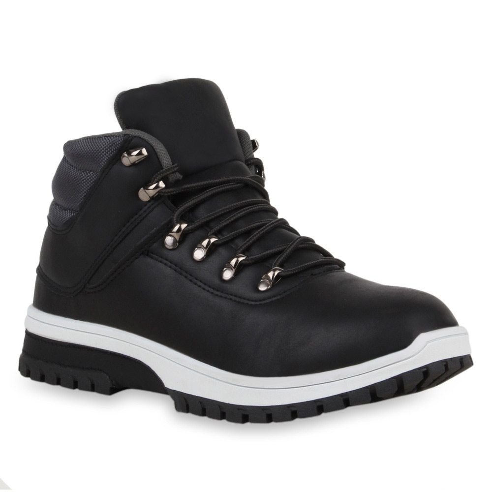 warm gef tterte herren winter sneaker worker boots. Black Bedroom Furniture Sets. Home Design Ideas