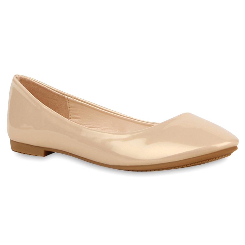 spitze damen ballerinas lack slipper flats schuhe 74711 new look ebay. Black Bedroom Furniture Sets. Home Design Ideas