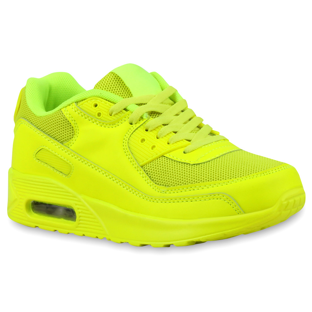 damen sportschuhe neon runners laufschuhe sneakers 74972 modatipp ebay. Black Bedroom Furniture Sets. Home Design Ideas