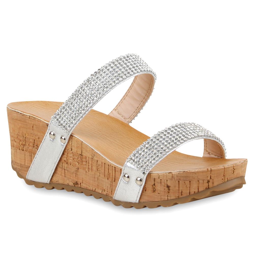 Schuhe mit keilabsatz aus kork