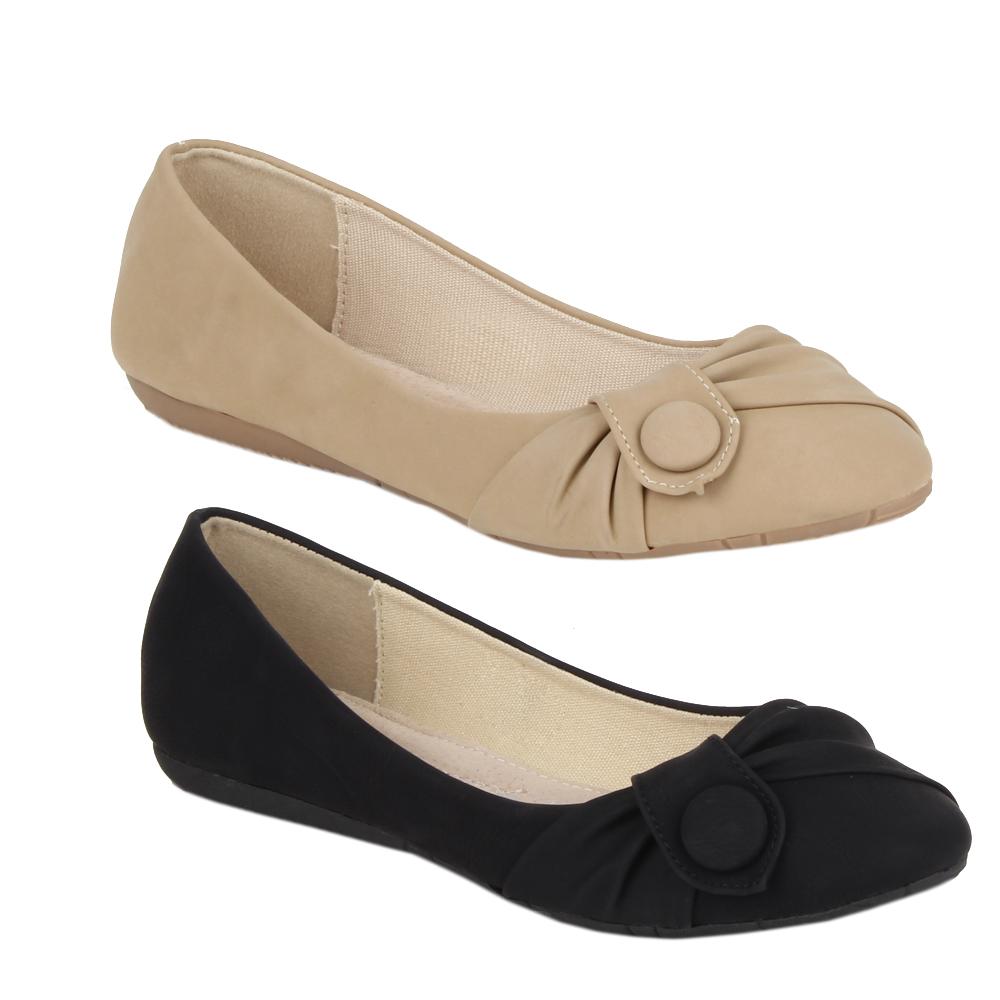 sommer ballerinas 99268 damen halb schuhe gr e slipper 35. Black Bedroom Furniture Sets. Home Design Ideas