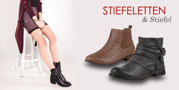 Stiefeletten & Stiefel