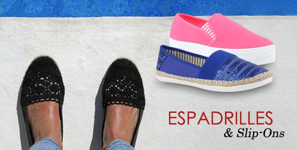 Espadrilles & Slip-Ons