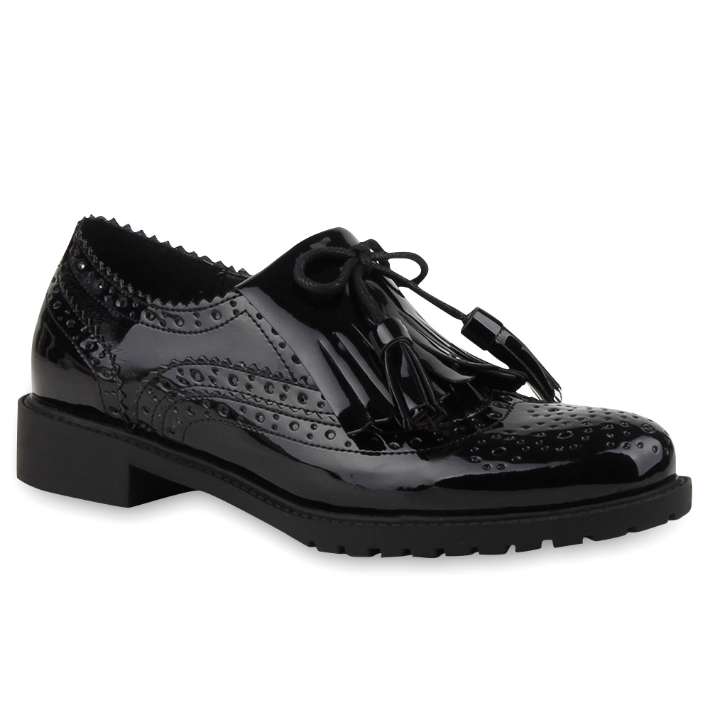 Dandy Look Für Damen : damen halbschuhe brogues slipper lack schuhe dandy look 75944 new look ebay ~ One.caynefoto.club Haus und Dekorationen