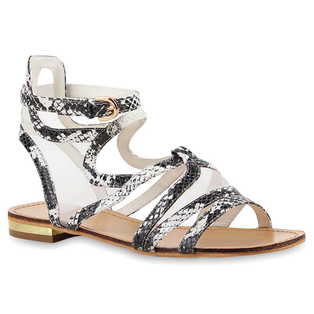 damen sandalen riemchensandalen blumen strass sommer schuhe 890530 trendy ebay. Black Bedroom Furniture Sets. Home Design Ideas