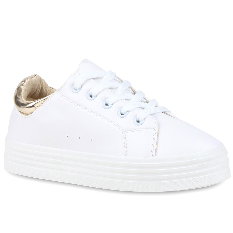Weisse Sneakers Damen 2021