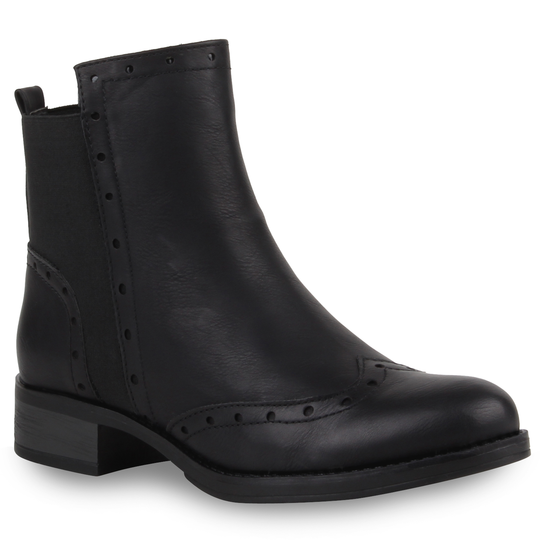 damen stiefeletten chelsea boots dandy style brogues 77870 new look ebay. Black Bedroom Furniture Sets. Home Design Ideas