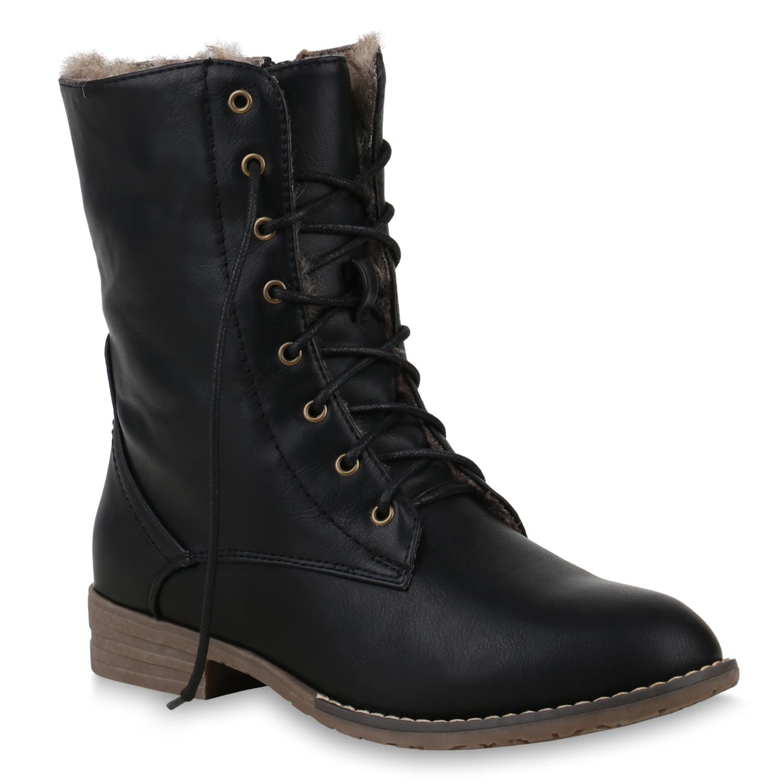 biker boots leder optik damen schuhe stiefel stiefeletten. Black Bedroom Furniture Sets. Home Design Ideas