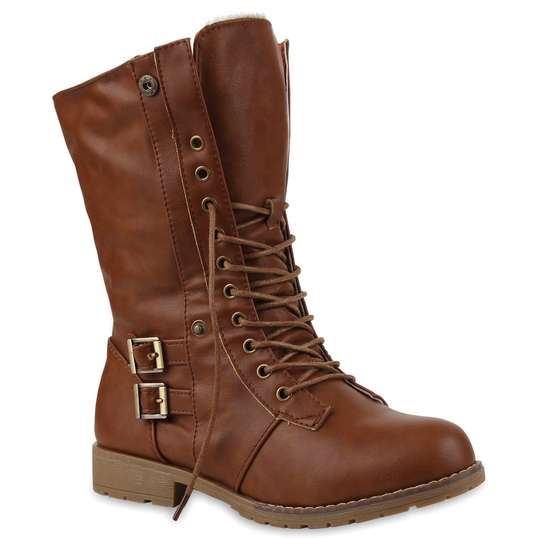 top winter stiefel boots gef ttert 99908 damen schuhe schuhe ebay. Black Bedroom Furniture Sets. Home Design Ideas
