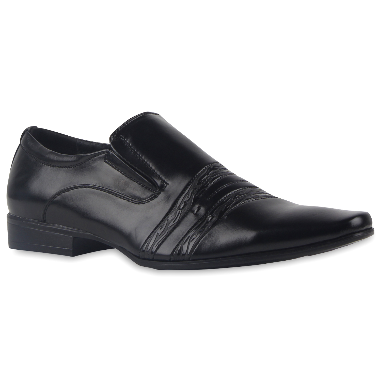 klassische herren slipper elegante lack business schuhe. Black Bedroom Furniture Sets. Home Design Ideas