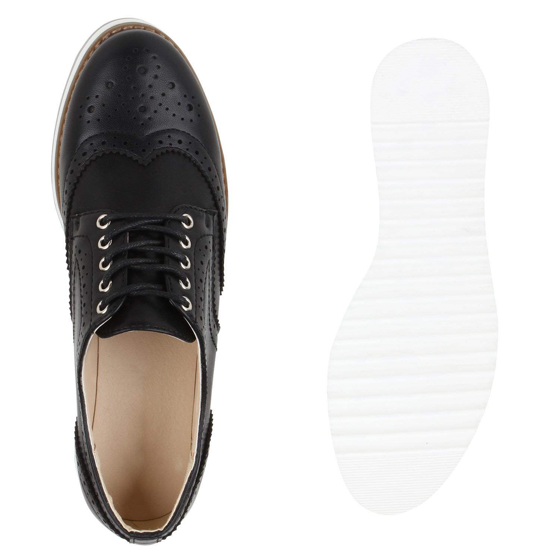 damen brogues metallic halbschuhe profilsohle dandy schn rer 79750 new look. Black Bedroom Furniture Sets. Home Design Ideas