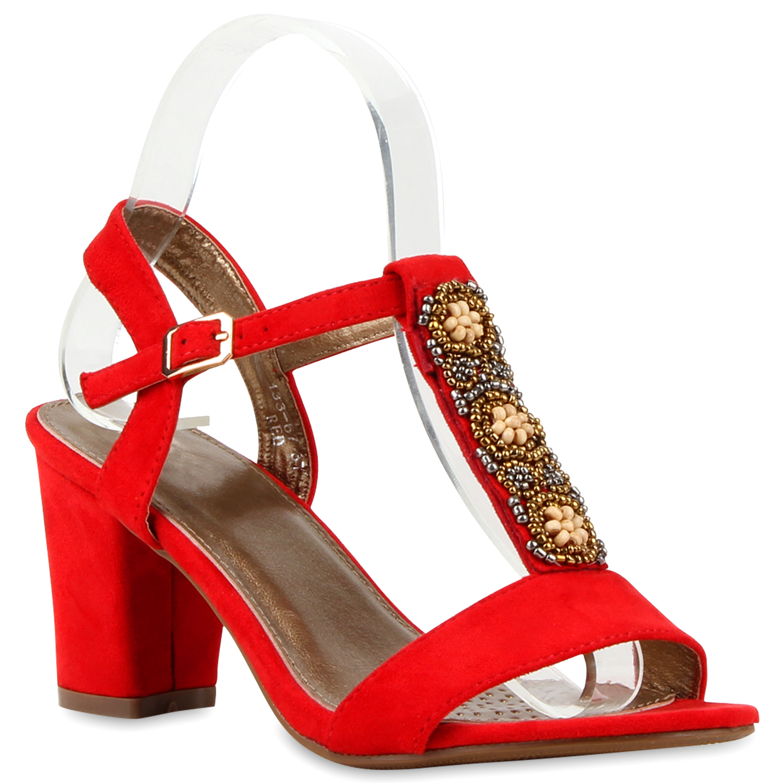 klassische damen sandaletten ethno design schuhe blockabsatz 79818 new look ebay. Black Bedroom Furniture Sets. Home Design Ideas